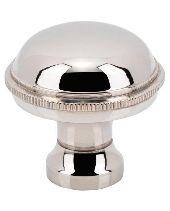 Purity Knob 1 5/16 Inch Polished Nickel