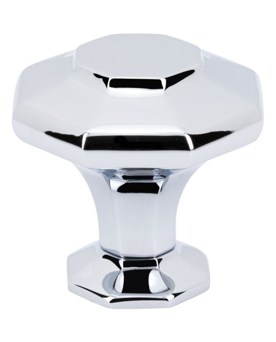 Palazzo Knob 1 5/8 Inch Polished Chrome