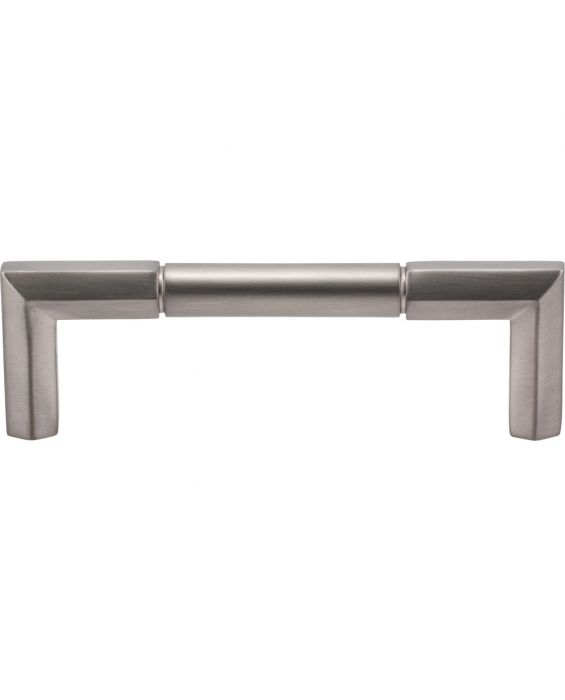 Identity Pull 3 3/4 Inch (c-c) Brushed Satin Nickel