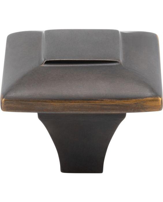 Alston Knob 1 5/16 Inch Milano Bronze