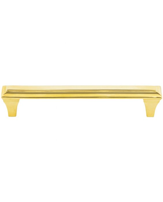 Alston Pull 5 1/16 Inch (c-c) Unlacquered Brass
