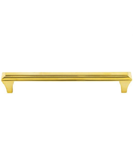 Alston Pull 6 5/16 Inch (c-c) Unlacquered Brass