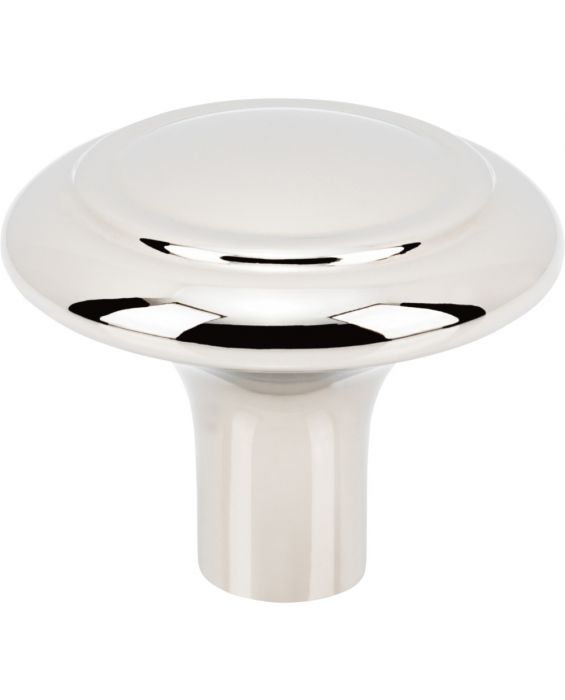 Cala Knob 1 5/16 Inch Polished Nickel