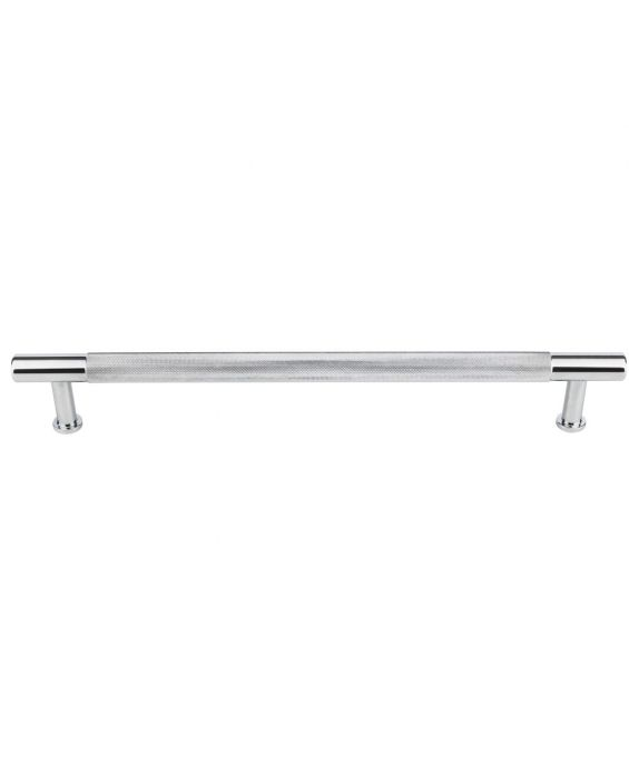 Beliza Knurled Appliance Pull 18 Inch (c-c) Polished Chrome