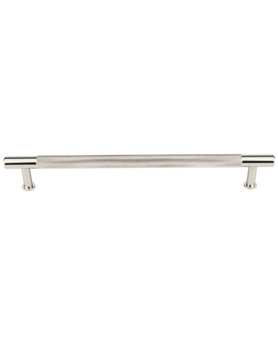 Beliza Knurled Appliance Pull 18 Inch (c-c) Polished Nickel