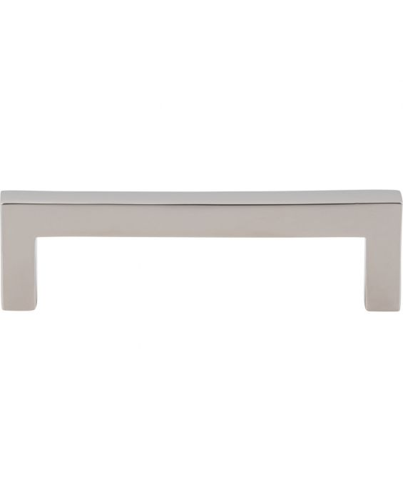 Simplicity Bar Pull 3 3/4 Inch (c-c) Polished Nickel