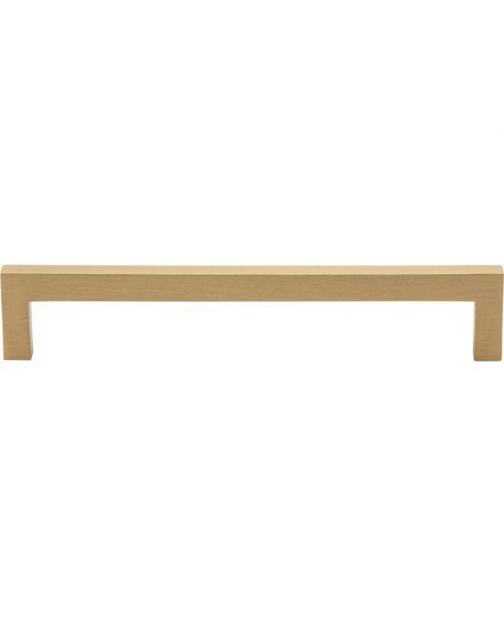 Simplicity Bar Pull 6 5/16 Inch (c-c) Satin Brass