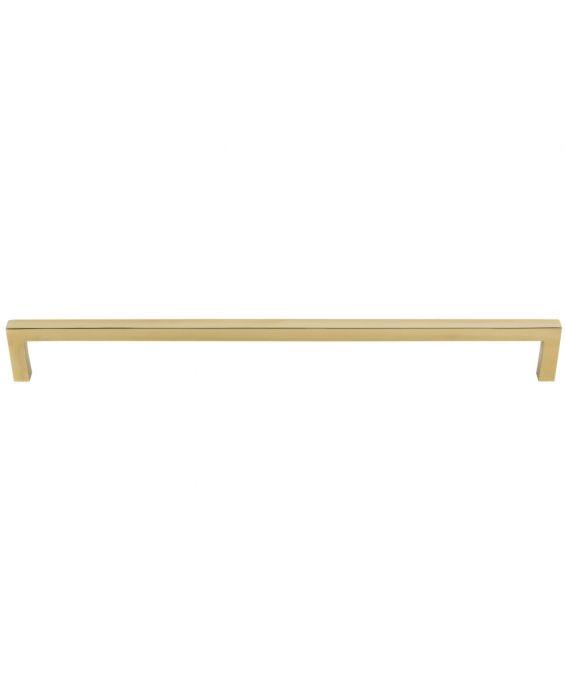 Simplicity Bar Pull 12 Inch (c-c) Unlacquered Brass