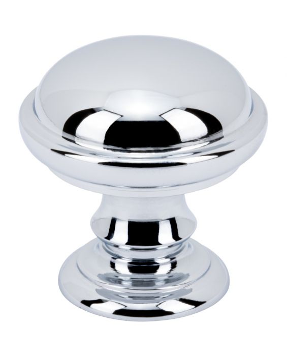 Ronan Knob 1 1/4 Inch Polished Chrome