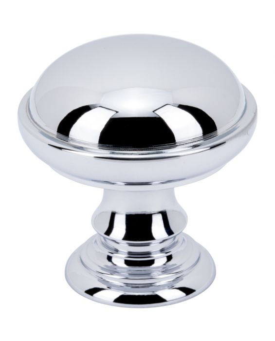 Ronan Knob 1 1/2 Inch Polished Chrome
