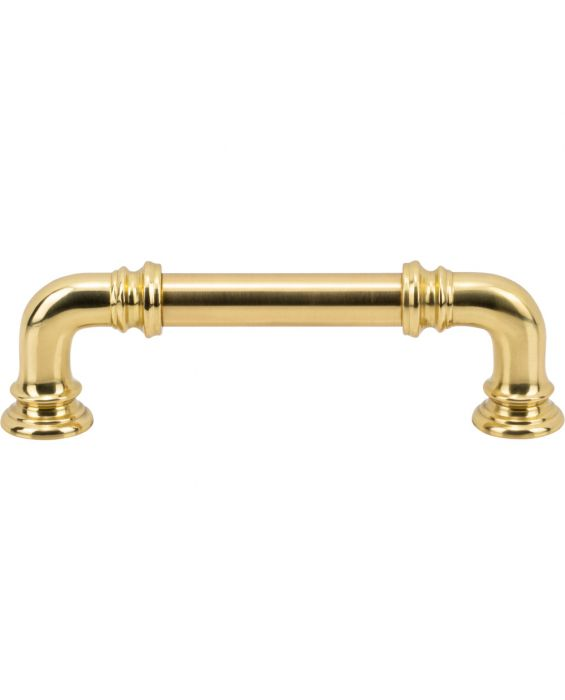 Ronan Pull 3 3/4 Inch (c-c) Polished Brass