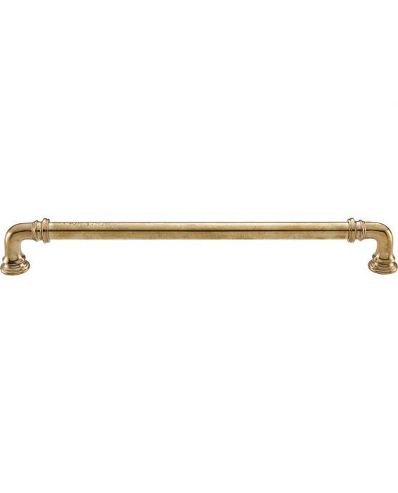 Ronan Pull 9 Inch (c-c) Unlacquered Brass
