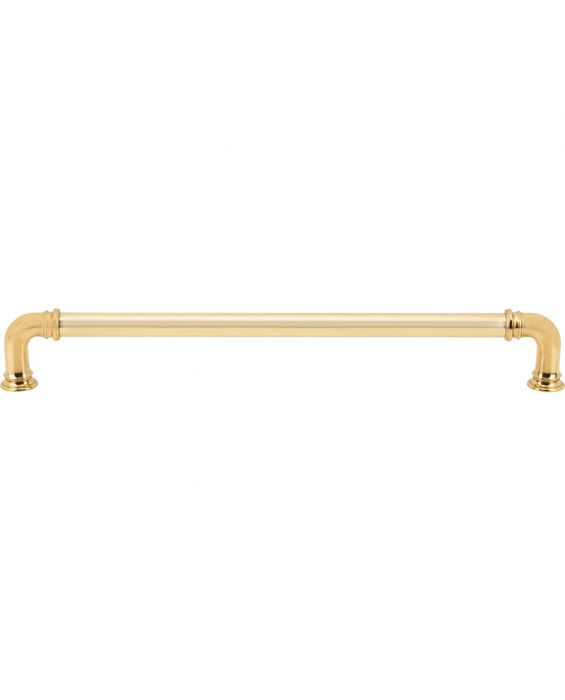 Ronan Appliance Pull 12 Inch (c-c) Polished Brass
