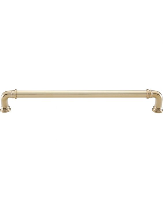 Ronan Appliance Pull 12 Inch (c-c) Unlacquered Brass
