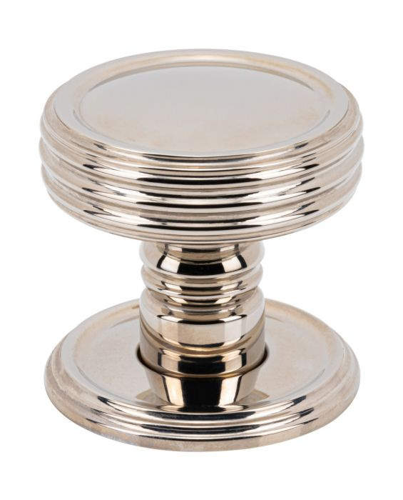 Divina Knob 1 1/2 Inch Polished Nickel