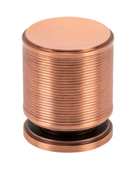 Vibe Knob 1 Inch Brushed Copper