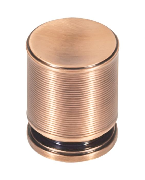 Vibe Knob 1 1/8 Inch Brushed Copper