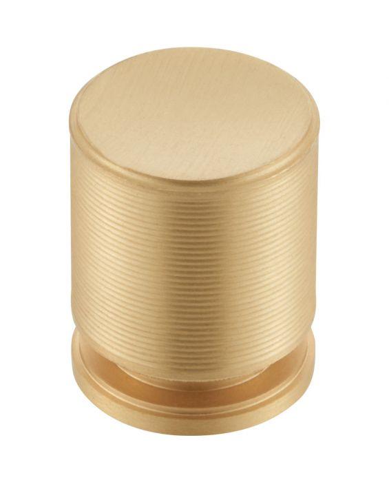 Vibe Knob 1 1/8 Inch Satin Brass