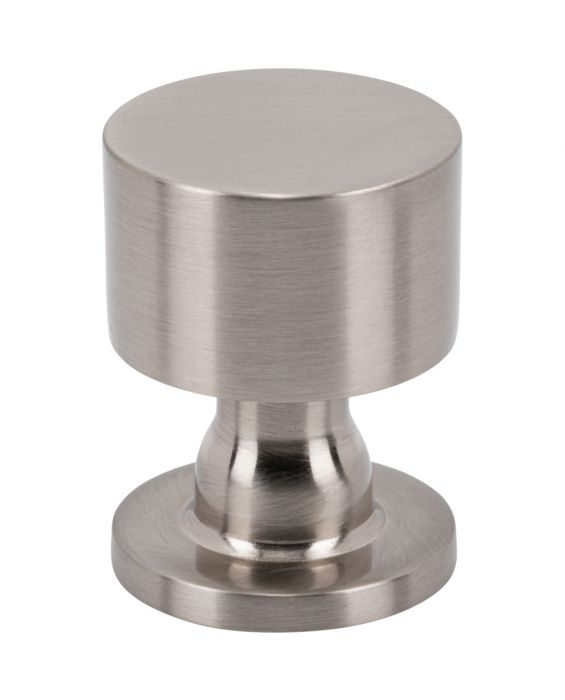Dante Knob 1 Inch Brushed Satin Nickel