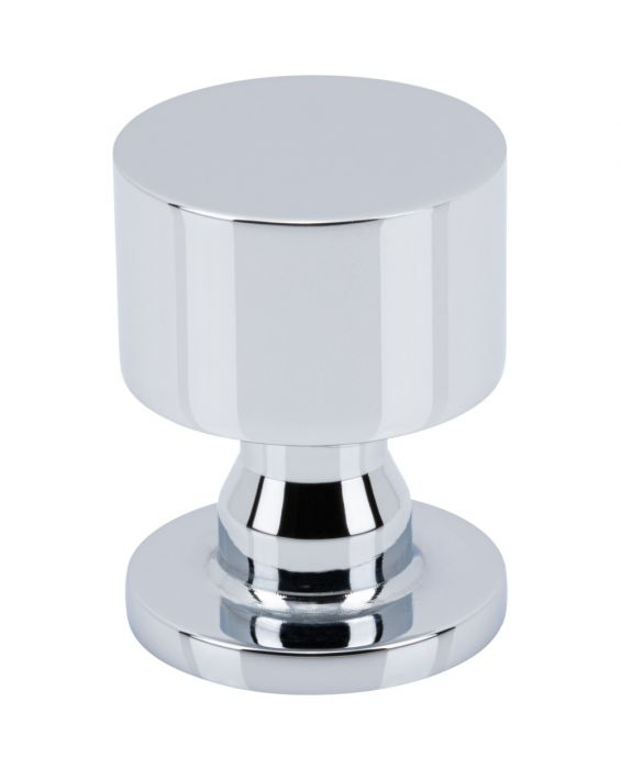 Dante Knob 1 Inch Polished Chrome