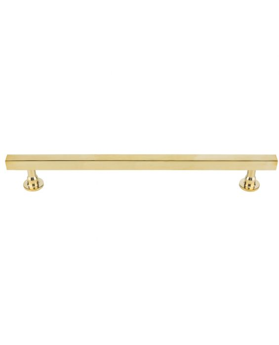 Dante Appliance Pull 18 Inch (c-c) Unlacquered Brass