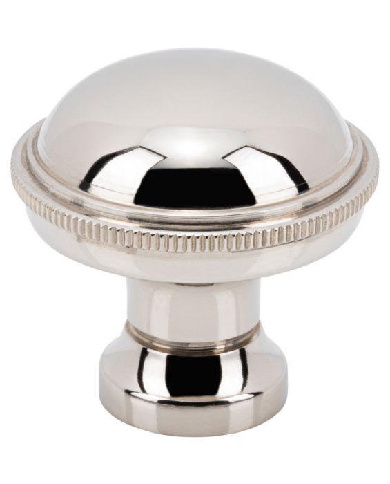 Purity Knob 1 1/4 Inch Polished Nickel