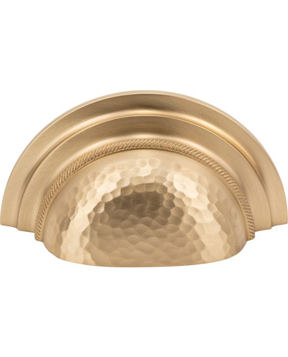 Artworth Cup Pull 3 Inch (c-c) Satin Brass