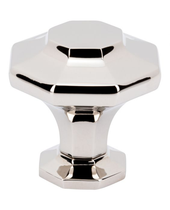 Palazzo Knob 1 3/8 Inch Polished Nickel