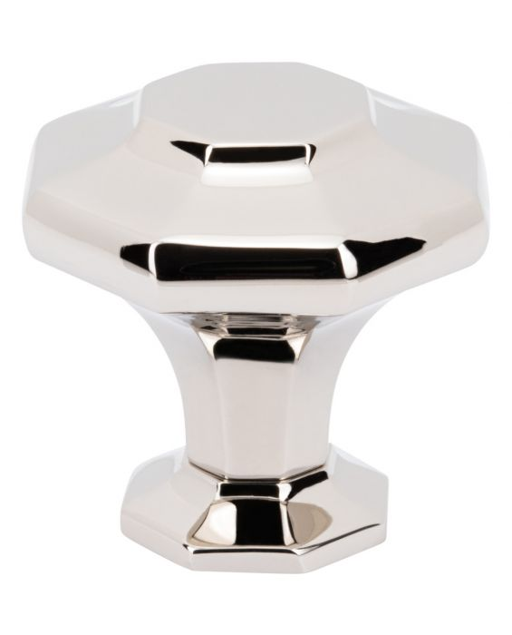 Palazzo Knob 1 5/8 Inch Polished Nickel