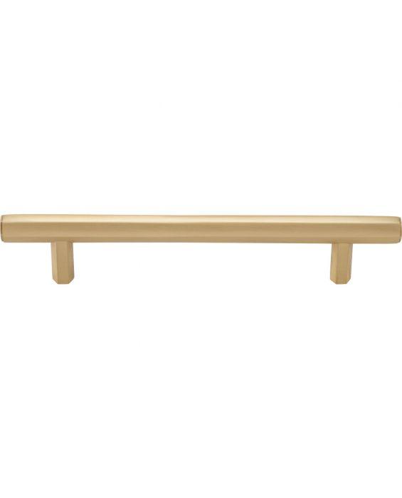 Insignia Pull 5 1/16 Inch (c-c) Satin Brass