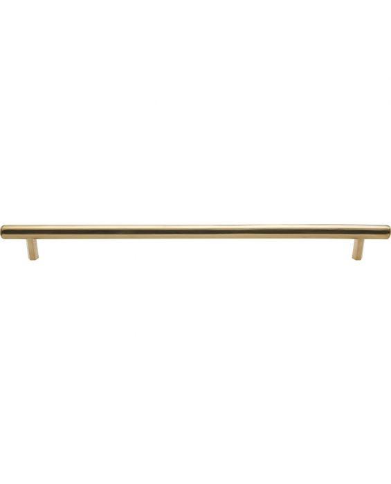 Insignia Pull 12 Inch (c-c) Unlacquered Brass