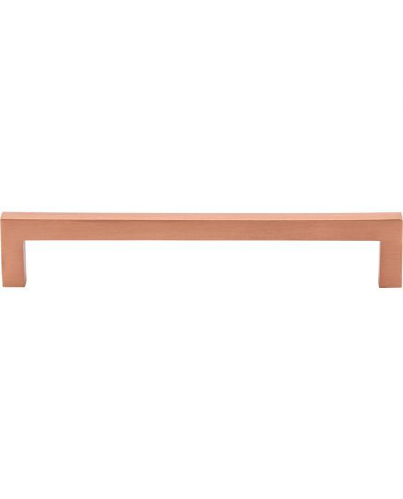 Simplicity Bar Pull 6 5/16 Inch (c-c) Satin Copper