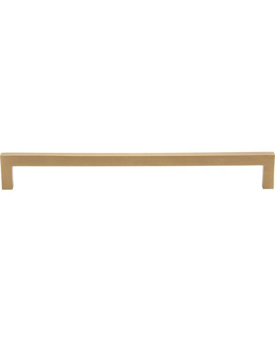 Simplicity Bar Pull 9 Inch (c-c) Satin Brass