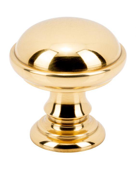 Ronan Knob 1 1/2 Inch Polished Brass