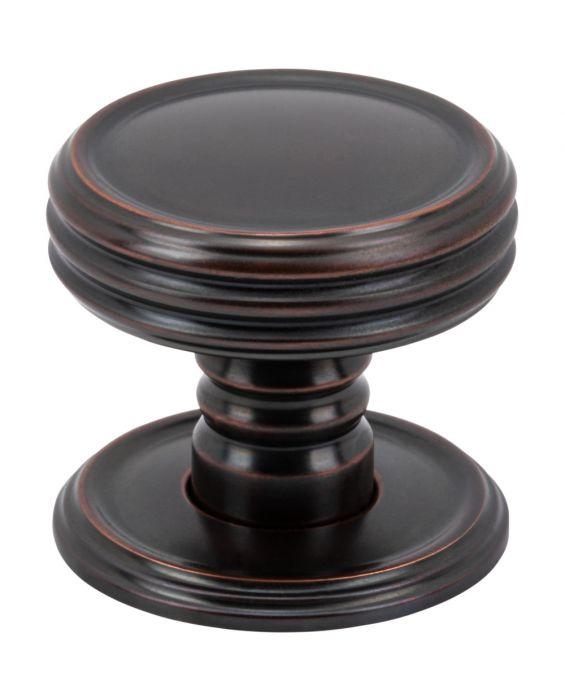 Divina Knob 1 1/4 Inch Oil Rubbed Bronze