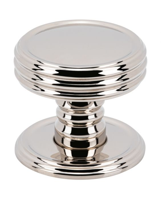 Divina Knob 1 1/4 Inch Polished Nickel