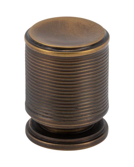 Vibe Knob 3/4 Inch Aged Brass