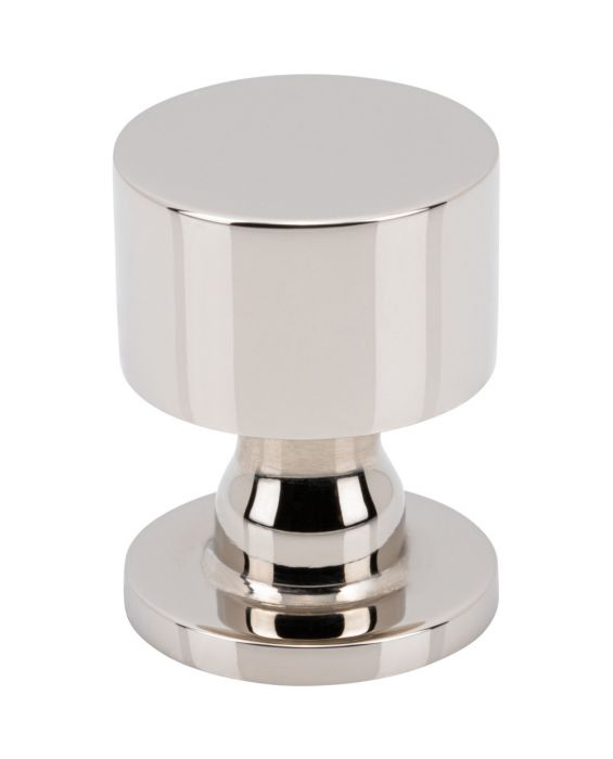 Dante Knob 1 Inch Polished Nickel