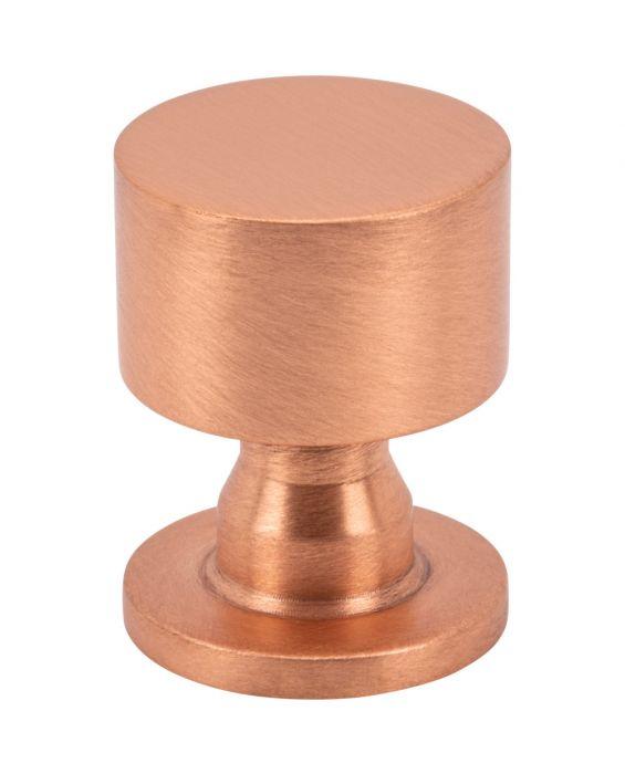 Dante Knob 1 Inch Satin Copper