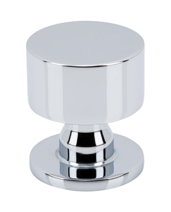 Dante Knob 1 1/8 Inch Polished Chrome