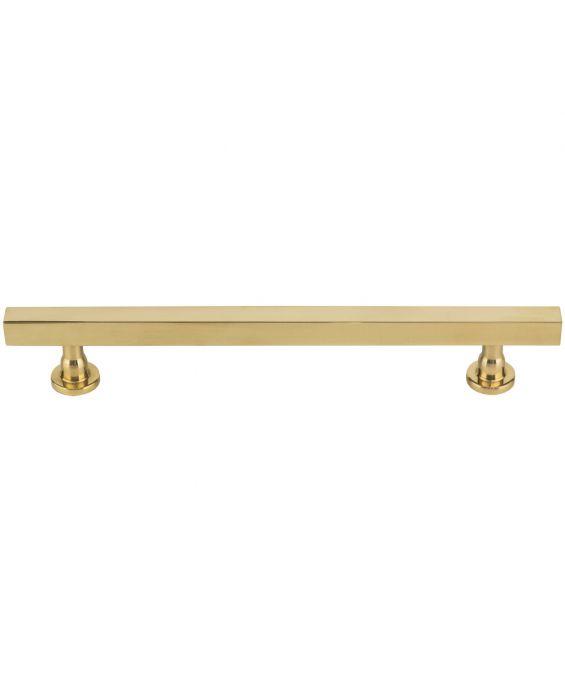 Dante Pull 6 5/16 Inch (c-c) Unlacquered Brass