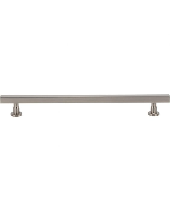 Dante Pull 8 13/16 Inch (c-c) Brushed Satin Nickel