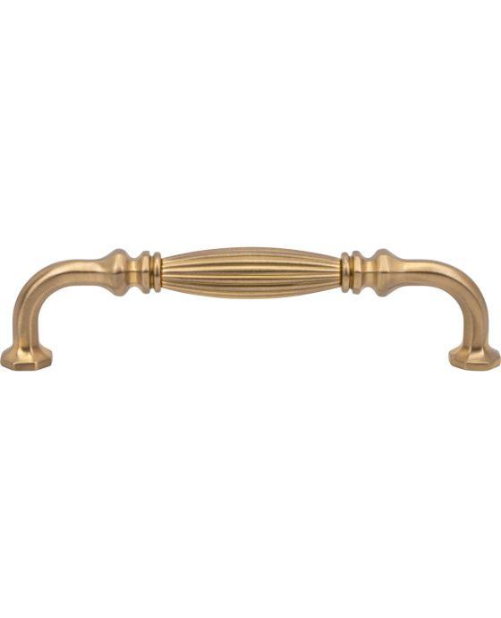 Roscato Pull 6 5/16 Inch (c-c) Satin Brass