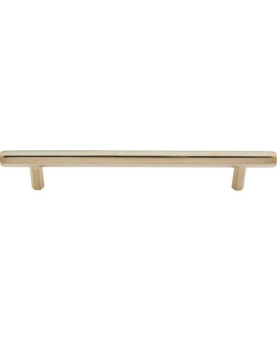 Insignia Pull 6 5/16 Inch (c-c) Unlacquered Brass