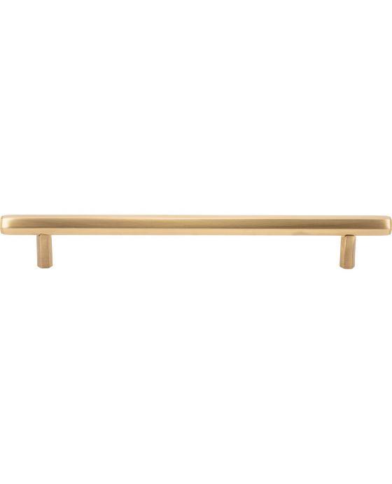 Insignia Pull 7 9/16 Inch (c-c) Satin Brass