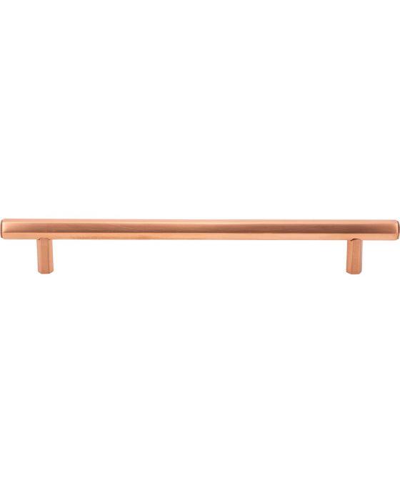 Insignia Pull 7 9/16 Inch (c-c) Satin Copper