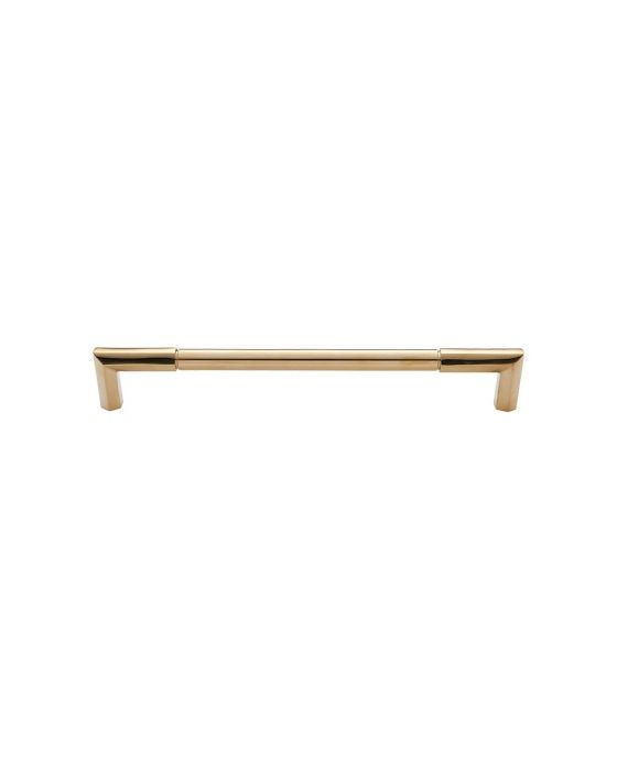 Identity Appliance Pull 18 Inch (c-c) Unlacquered Brass