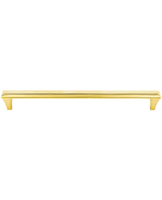 Alston Appliance Pull 12 Inch (c-c) Unlacquered Brass