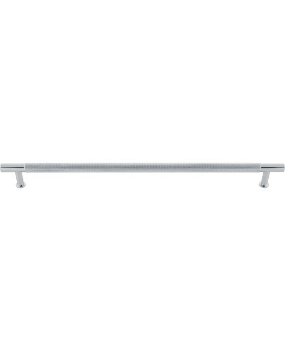 Beliza Knurled Bar Pull 12 Inch (c-c) Polished Chrome