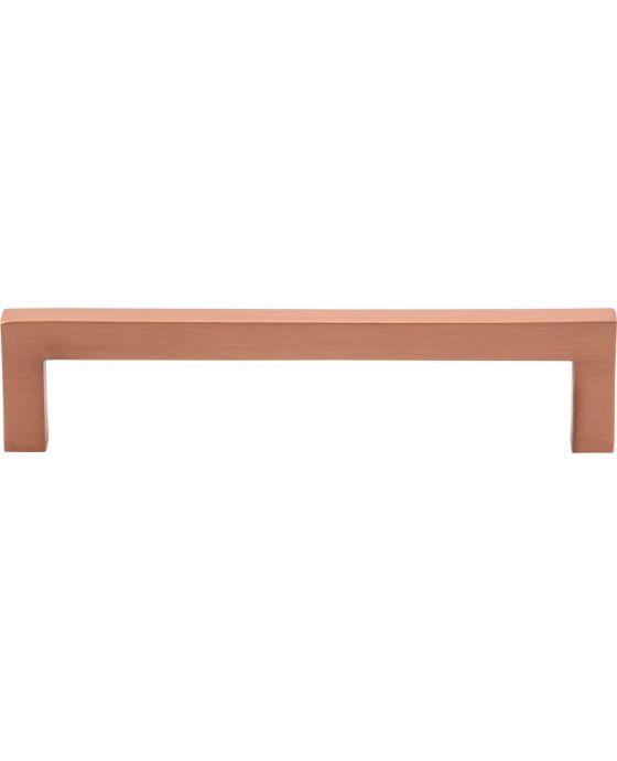 Simplicity Bar Pull 5 1/16 Inch (c-c) Satin Copper
